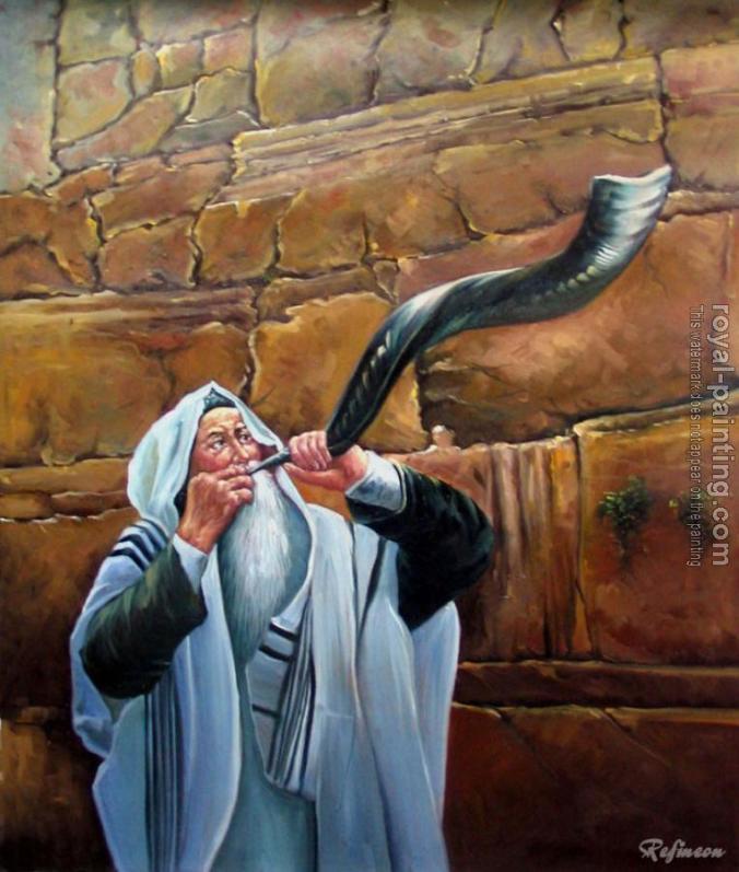 shofar painting 3